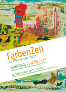 DR. ELLEN BUCKERMANN - Vernissage am 26.03.2017