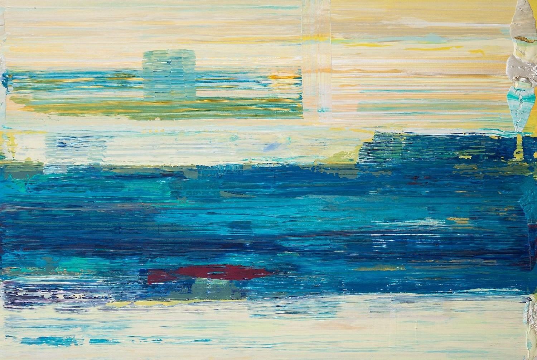Horizont Acryl auf Leinwand von Ellen Buckermann 150x100cm