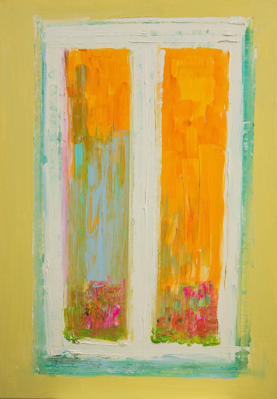 Romanze Acryl auf Leinwand vonEllenBuckermann70x100cm