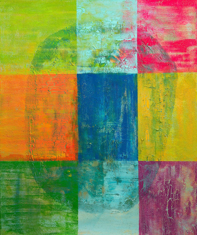 Gemeinsam - Acrylbild von Dr. Ellen Buckermann